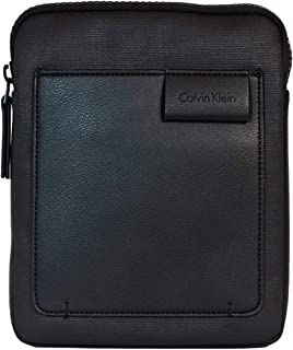 Men's TY Flat Crossover G Bag, Black, 3x26x22 cm (b x h x t)