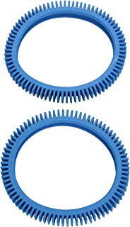 Poolvergnuegen 896584000-082 2-Pack Blue Standard Back Tire Replacement for Pool Cleaners