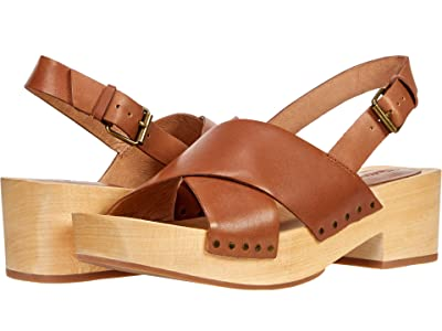 Madewell Sheila Clog in Leather