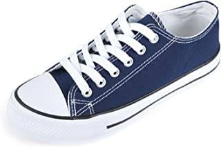 Unisex Fashion Lace up Sneaker Low Top Canvas Shoes
