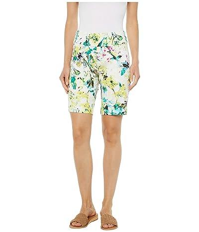 Krazy Larry Pull-On Shorts (Leaf) Women