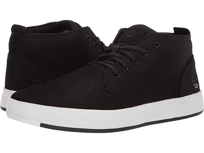 Disciplina carbón Manifiesto  Timberland Davis Square Leather and Fabric Chukka | Zappos.com