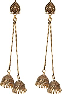 Best long hanging jhumkas Reviews