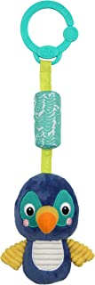 Bright Starts Chime Along Friends On-The-Go Take-Along Toy, Toucan, Newborn +