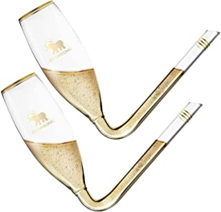 CHAMBONG Champagne Shooter - Unique Gifts for Bachelorette Party Favors, Engagement Gifts & White Elephant Gifts - Champag...