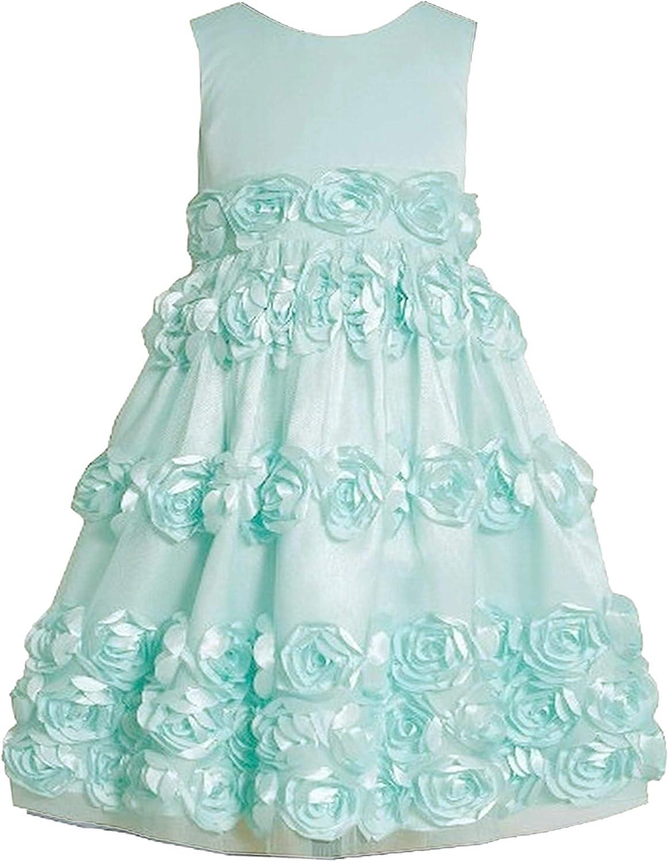 Bonnie National products Jean Little Girls 2T-6X Flutter Part Bonaz Social Rosette 25% OFF