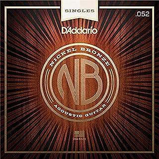 D'Addario NB052 .052 Nickel Bronze Wound Acoustic Guitar Single String