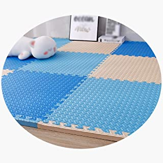 MAHFEI Foam Interlocking Floor Mats Puzzle Pad Child Crawling Collision Protection Gaming Room Non-slip Waterproof Easy To...