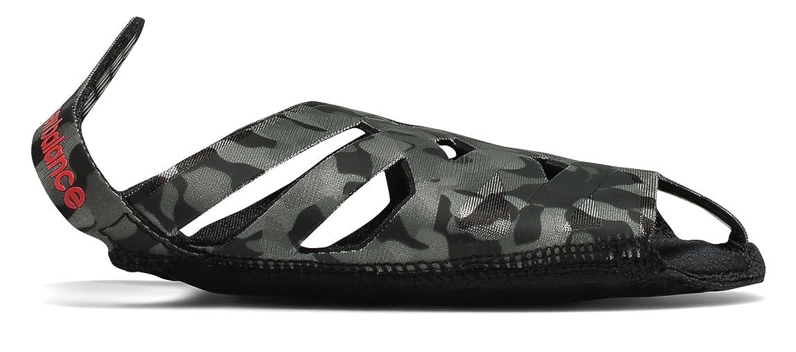 肥沃なアボートモード(ニューバランス) New Balance 靴?シューズ レディーストレーニング NB Studio Skin Print Black with Grey ブラック グレー M (M)