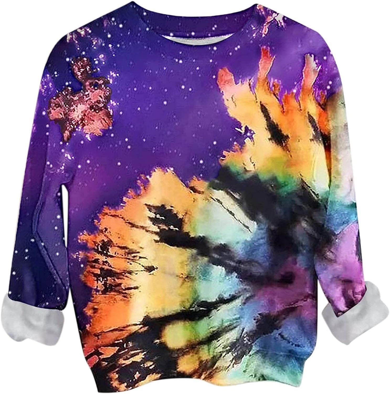 Hemlock Women Tie Dye Sweatshirts Hoodie Girls Teen supreme Regular store Pullovers O