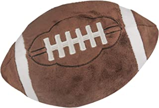 CatchStar Football Plush Pillow Fluffy Plush Football Pillows Durable Stuffed Football Throw Pillow Soft Sports Ball Toy Gift Room Decorations for Kids Boy Infants Toddler Baby Girl Childs