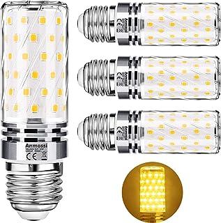 Anmossi E27 LED Lampe 12W,Warmweiß 3000K E27 Mais Glühbirnen Entspricht 100W Glühlampe,Nicht Dimmbar Kein Flackern 1200Lm ...
