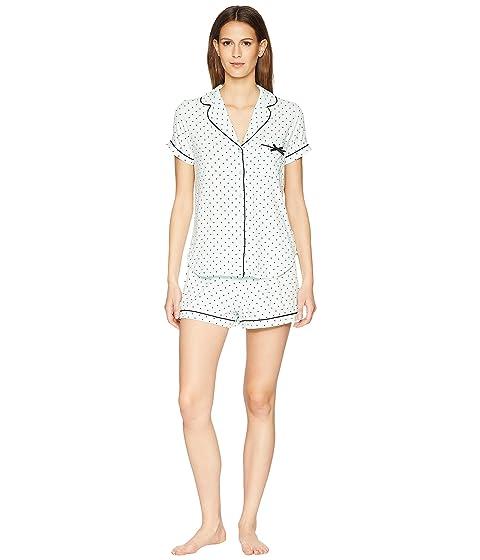 Kate Spade New York Mini Dot Classic Short Pajama Set