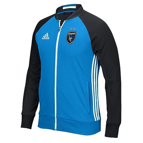 8da32ebf2 adidas San Jose Earthquakes MLS Anthem Men s Sideline Full Zip Jacket