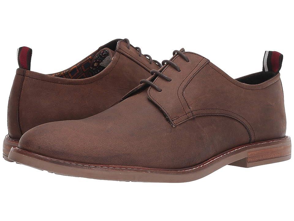 Ben Sherman Brent Plain Toe (Brown Leather) Men