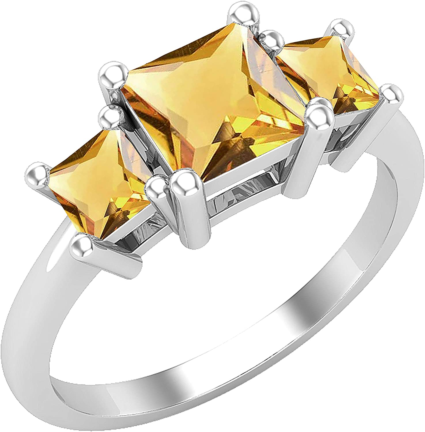 overseas Dazzlingrock Collection Ladies Bridal 3 Ring Stone Engagement A Gorgeous