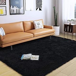 DweIke Soft Fluffy Shag Area Rugs for Living Room, Shaggy...