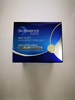 Bio-Essence Bio-Vlift Face Lifting Cream - Nourishing 40g-Helps fade lines on neck and reduce double chin,help to improve skin resilience and restore youthfulness
