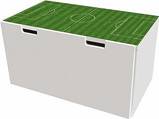 comprar comparacion Cancha pegatinas | pegatinas para muebles | BTD05 | adecuado para el arcón de banco STUVA de IKEA para niños(90 x 50 cm) |...