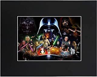"""Star Wars Movie Portrait Art Print Picture Photograph Poster Gift Wall Decor Display Size with Matted 11""""x14"""""""