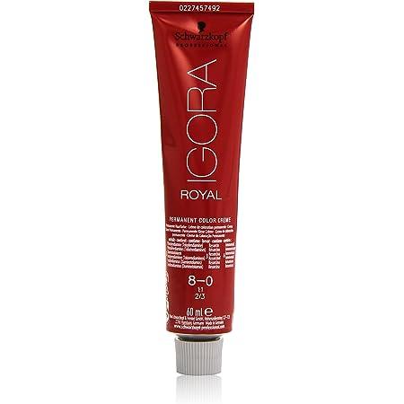 Schwarzkopf Professional Igora Royal Tinte - 60 ml, 8-0 Rubio Claro Natural, 8-0 Rubio claro (4045787200225)