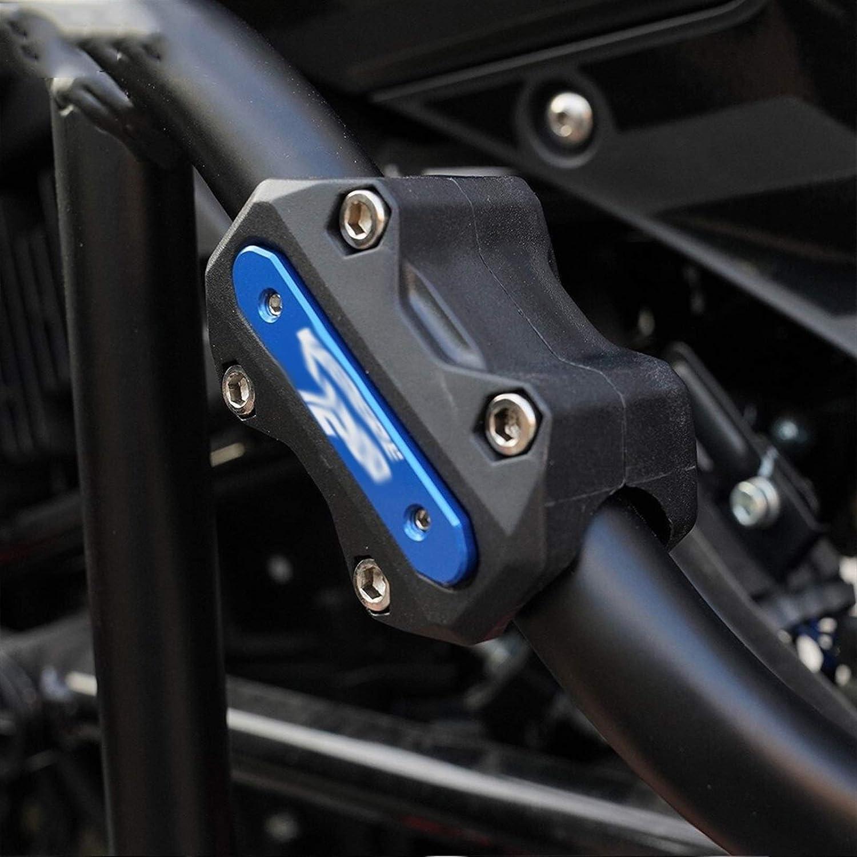 Bloquear la motocicleta Protector del motor parachoques Protecci/ón Crash bar decorativo Bloquear ajuste for Yamaha Super T/én/ér/é Tenere1200 Tenere 1200 2018 2019 2020 XT1200Z Color : 1 Pair Black