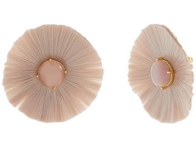 Kate Spade New York Posh Poppy Studs Earrings (Blush) Earring