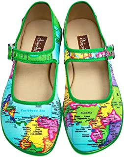 Best shoes with world map Reviews