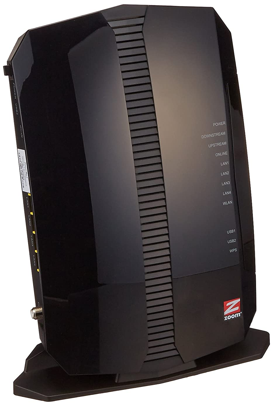 Zoom 8x4 Cable Modem plus N300 Wireless Gigabit Router, DOCSIS 3.0, Model 5354, Certified by Comcast XFINITY, Time Warner Cable and Other Service Providers