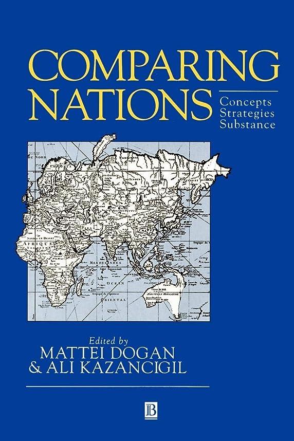 科学疑わしい提唱するComparing Nations: Concepts, Strategies, Substance