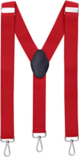 MASADA Bretelle da uomo chiusura a moschettone resistenti 3,5 cm di larghezza fino a 195 cm di altezza