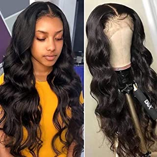 Body Wave Human Hair Lace Frontal Wigs Human Hair Pre Plucked Lace Wigs with Baby Hair for Black Women Brazilian Hair Wigs...