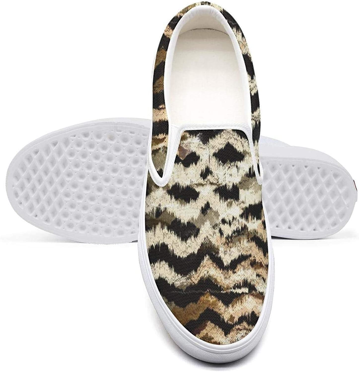 VXCVF Leopard and Snake Design Attractive Women Canvas Sneakers Loafers shoefor Womens