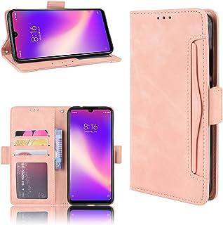 LODROC Xiaomi Redmi Note 7/Note 7 Pro Case, TPU Leather Case Magnetische Cover [Kaartcompartiment] [Standfunctie], Schokbe...