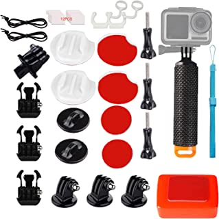 WLPREOE 32in1 Waterproof Floating Hand Grip with Surfing Mount for GoPro Hero 8 MAX 7 Black Silver White/6/5/5S/4S/4/3+ OSMO Action Camera with Floaty Backdoor Accessories Kit