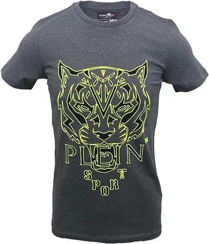 PLEIN SPORT - T-Shirt - Homme gris gris