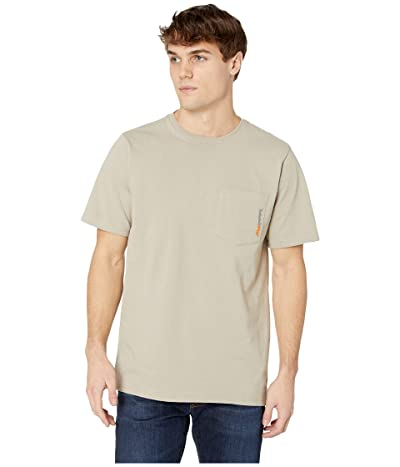 Timberland PRO Base Plate Blended Short Sleeve T-Shirt (Sandstone) Men