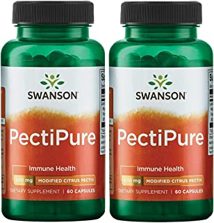 Sponsored Ad - Swanson Pectipure Modified Citrus Pectin 600 Milligrams 60 Capsules 2 Pack