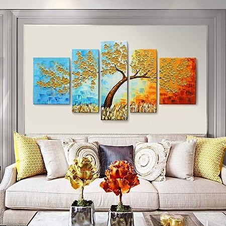 Abstract modern painting Original canvas wall decor Seascape impasto wall art decor