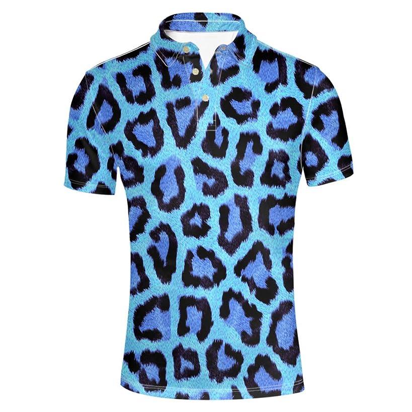 HUGS IDEA Camouflage Men's Polos Shirt Short Sleevee T-Shirts