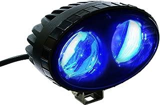 blue back up lights forklift