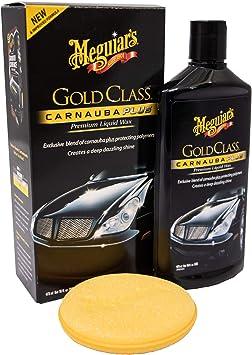 Meguiar's G7016EU Gold Class Carnauba Plus Premium Liquid Car Wax 473ml: image
