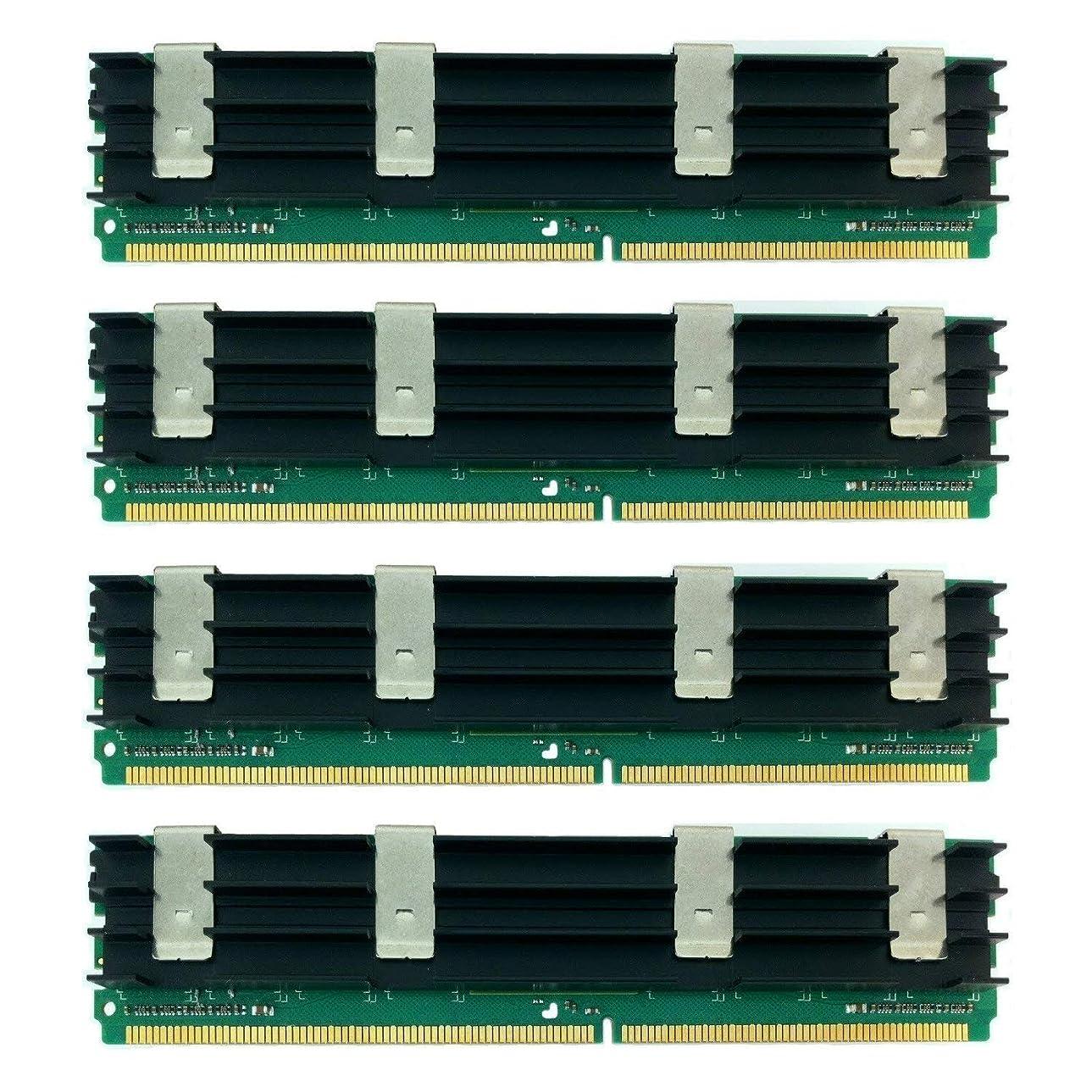 知り合い誕生日溶かすMemoryMasters 16GB (4X 4GB) 240ピン 667MHz PC2-5300F DDR2 CL5 ECC フルバッファーFB-DIMM メモリーモジュール
