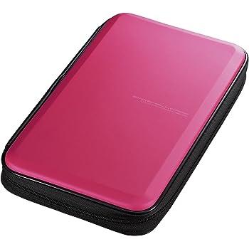 サンワサプライブルーレイディスク対応セミハードケース(56枚収納・ピンク)FCD-WLBD56P