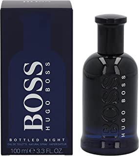 Boss Bottled Night by Hugo Boss for Men, 3.4 oz