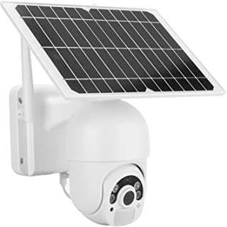 Security Camera, 2MP Solar Camera 135 Degree Wide‑Angel Wifi CCTV Camera Waterproof for Outdoor for Suburbs for Home for F...