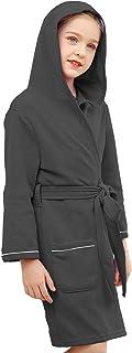 V.&GRIN Girls Kimono Robes Long Knit Bathrobe Lightweight Soft Knit Sleepwear SPRING SUMMER bathrobe for Girls 3-14 years