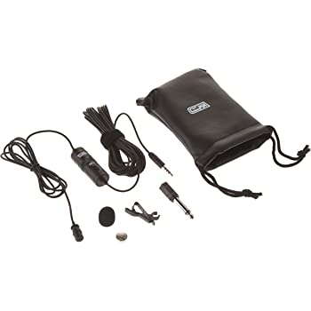 Electret Condenser 20 Audio Cable Transducer type Sanyo Xacti VPC-HD700 Camcorder External Microphone Vidpro XM-L Wired Lavalier microphone