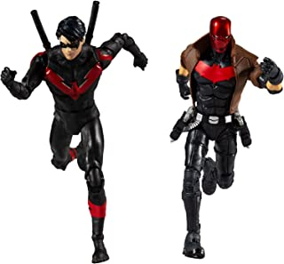 "McFarlane Toys DC Multiverse Red Hood and Nightwing 7"" Action Figure Multipack"