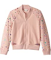 Stella McCartney Kids - Cardigan with Sequin Tulle Layer (Toddler/Little Kids/Big Kids)